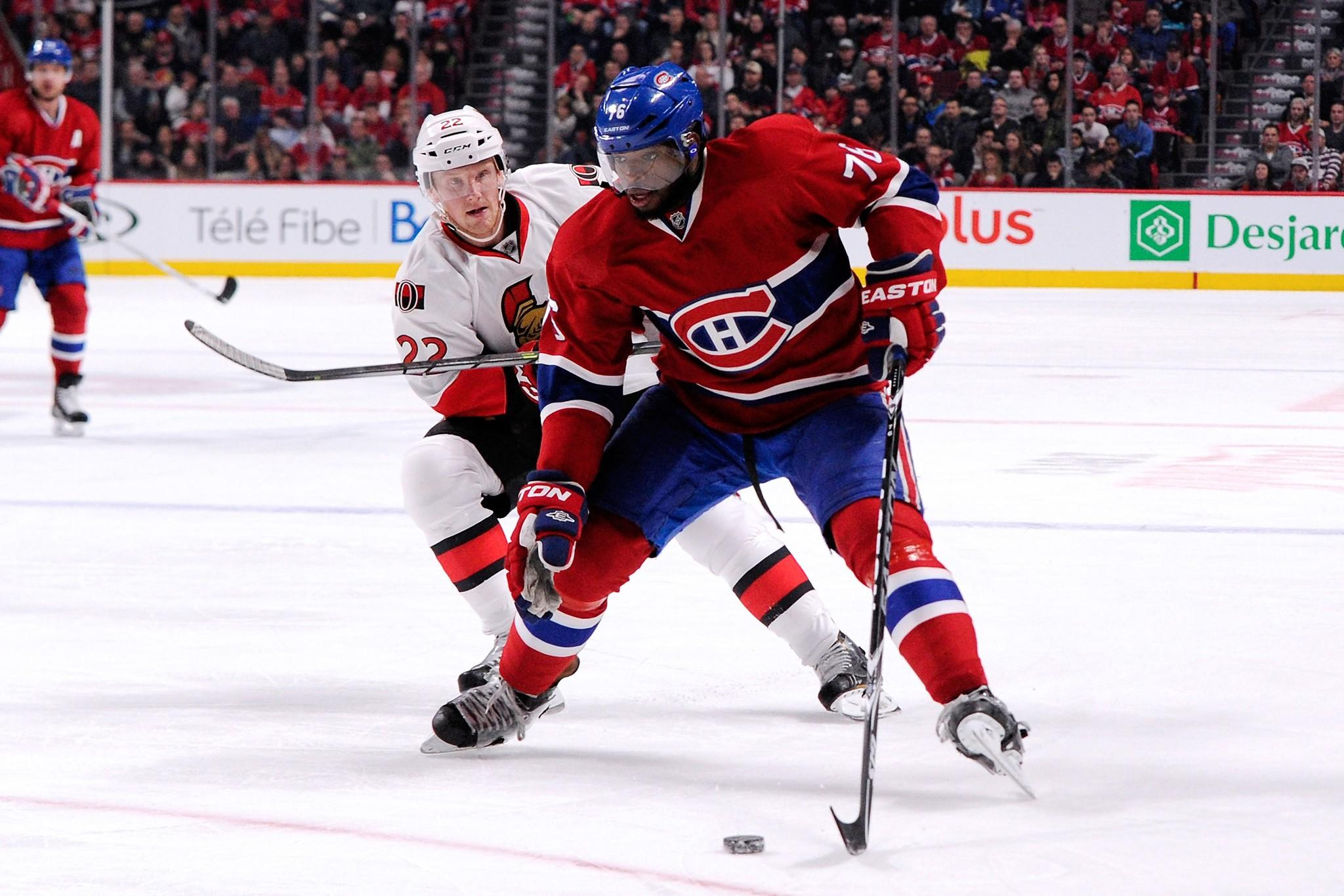 Canadiens defenseman P.K. Subban
