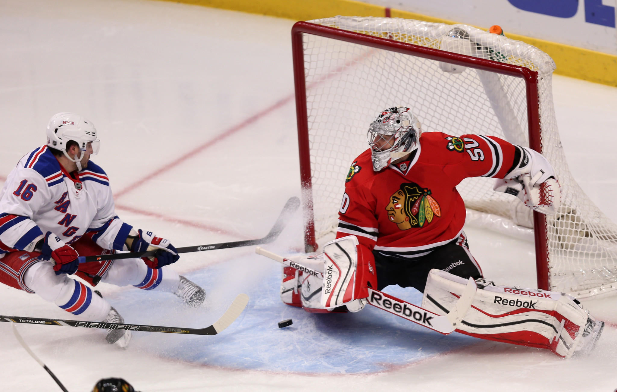 Corey Crawford's play has been gradually getting better since his return from injury.