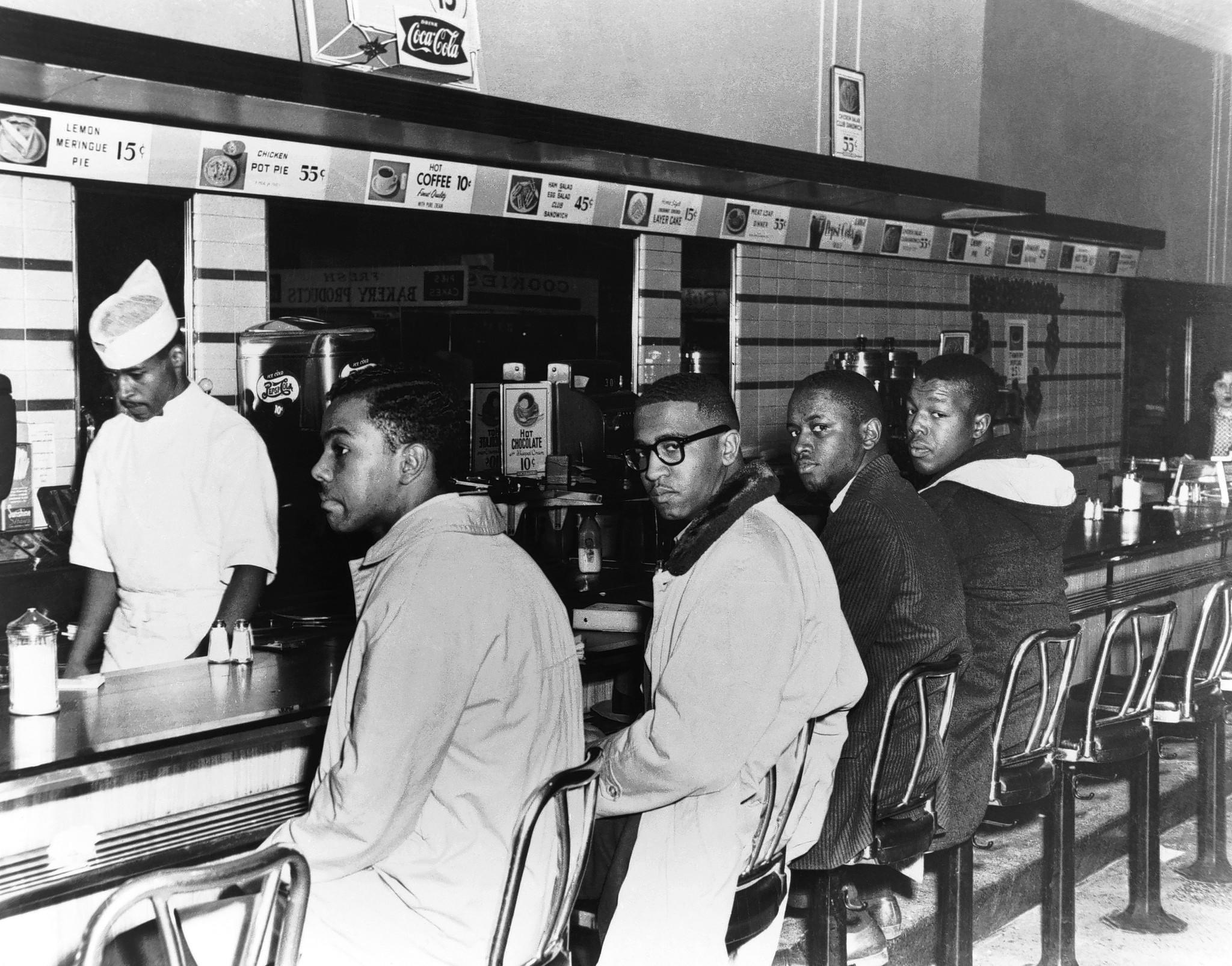 Image result for the greensboro four