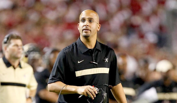 Vanderbilt's James Franklin is widely expected to be named the next Penn State football coach.