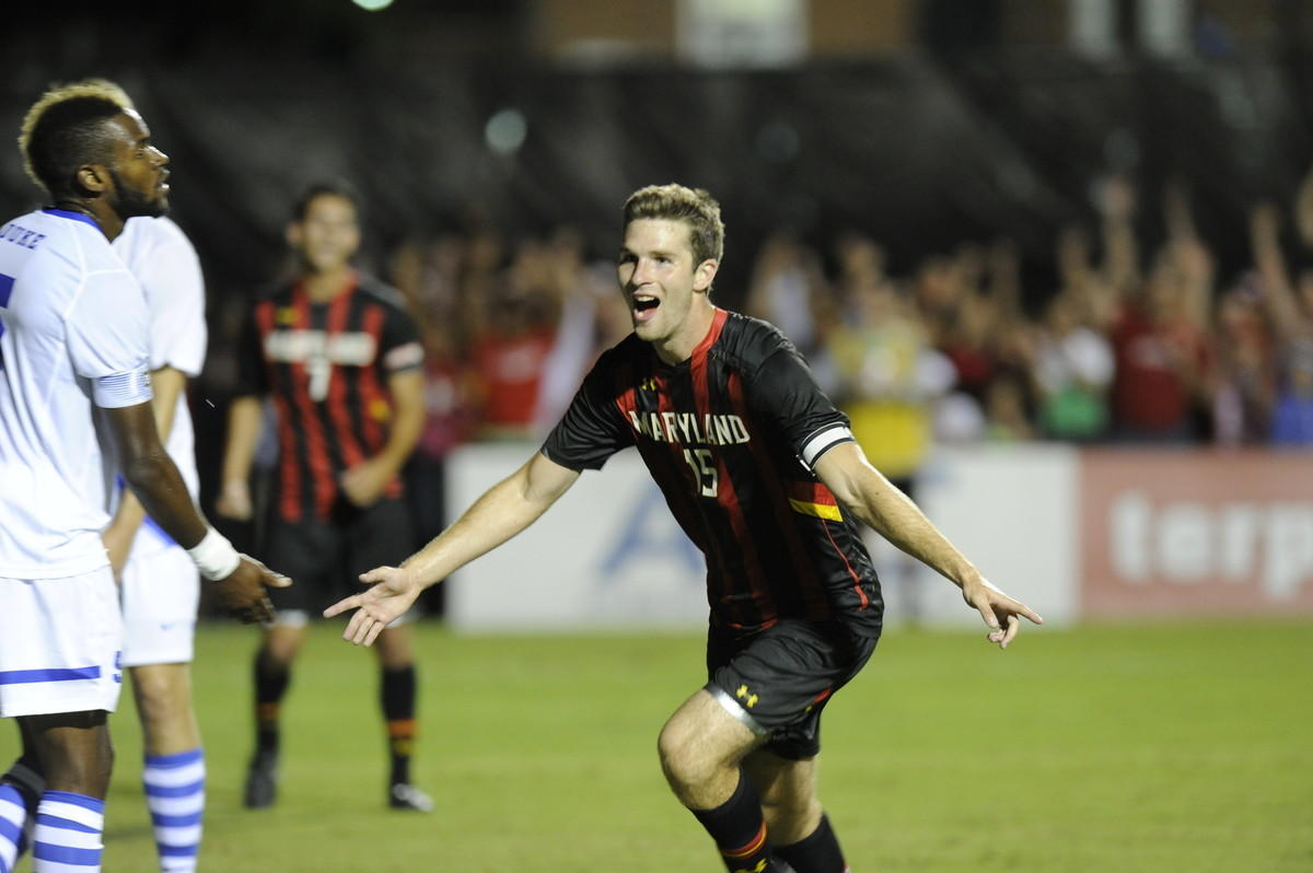Patrick Mullins, Maryland men's soccer player.