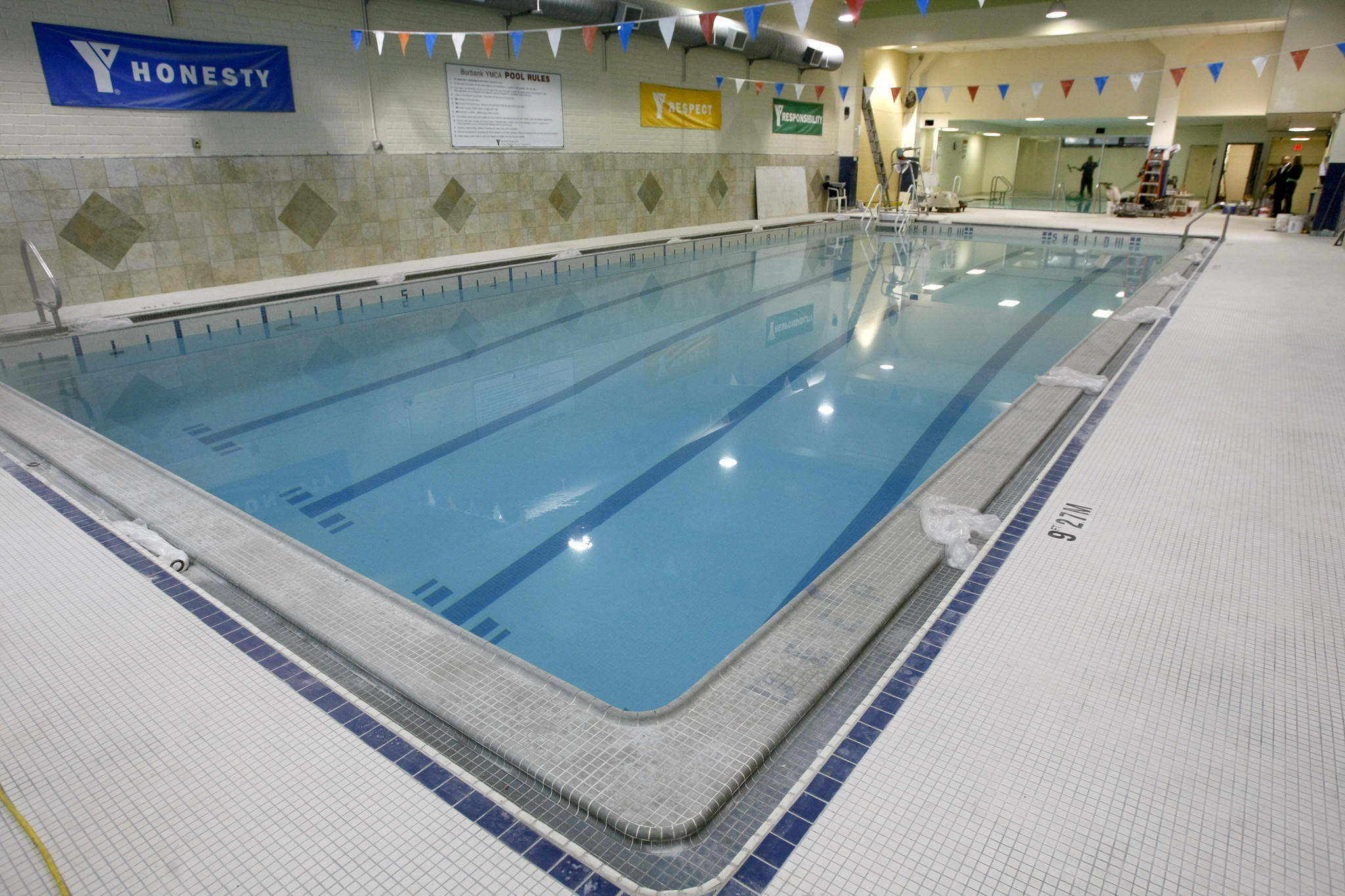 The Burbank Community YMCA recently spent about $1 million for renovations of the pool, and the gym at the Magnolia Blvd. location in Burbank, pictured in Friday, January 10, 2014.