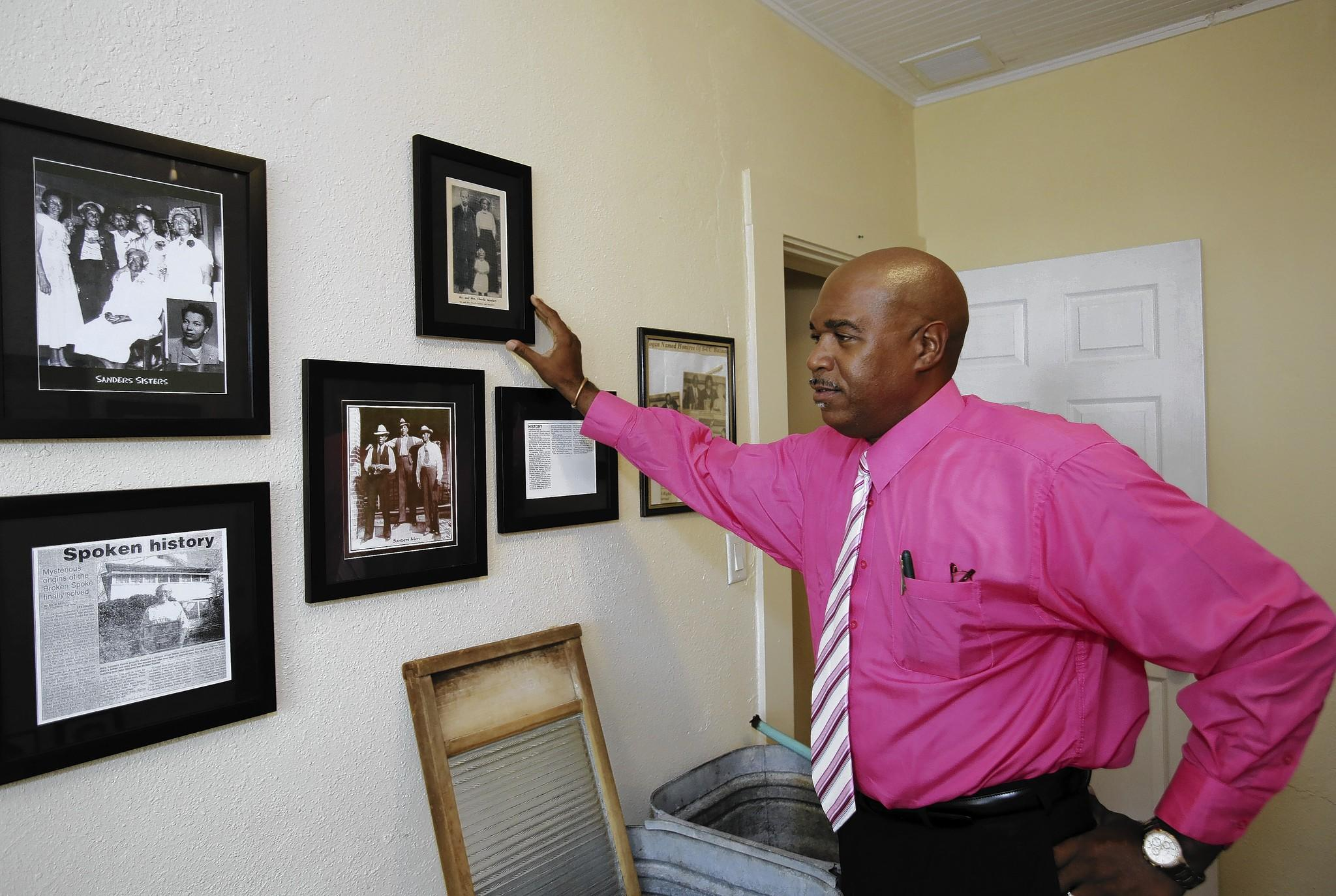 Ralph Morris has been named coordinator of the Leesburg African American Museum. The museum spotlights the life and work of many great African Americans who have had an impact on the city.