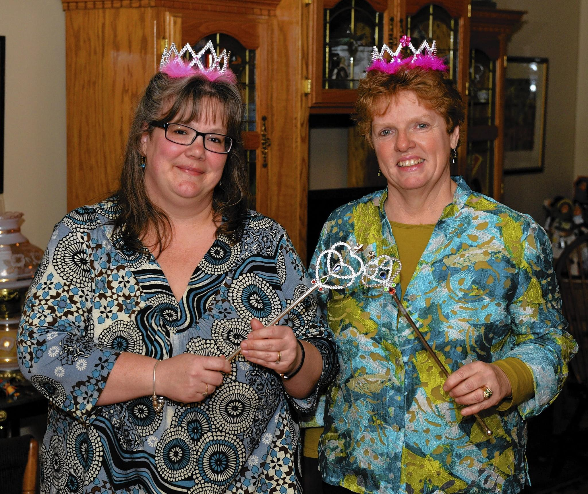 Queens of Cheap 2013 Jodi Godown Hilt (left) and Julie Sanders found a clever way to save a few bucks and take some of the sting out of turning a year older. They've been swapping the same birthday card for more than 20 years.