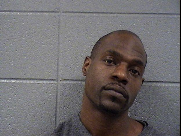 Pierre Morgan, 37, a Harvey man charged in connection with a home invasion in south suburban Lansing.