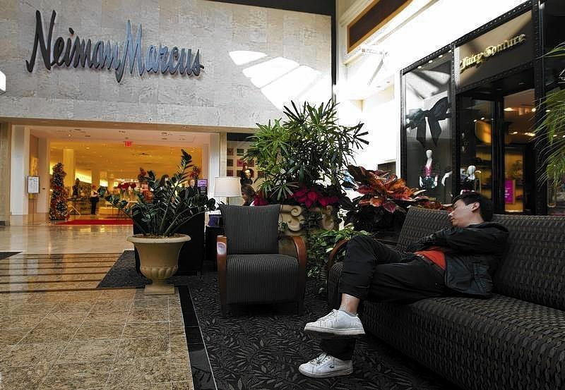 A Neiman Marcus store at South Park mall in Charlotte