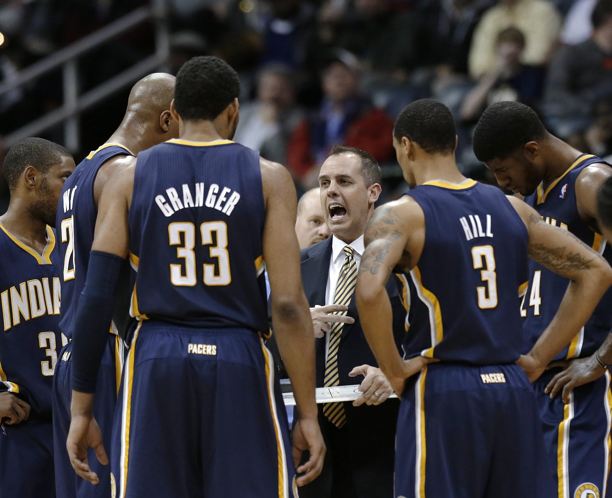 The Indiana Pacers take the top spot in this week's rankings after starting the season with a record of 29-7.