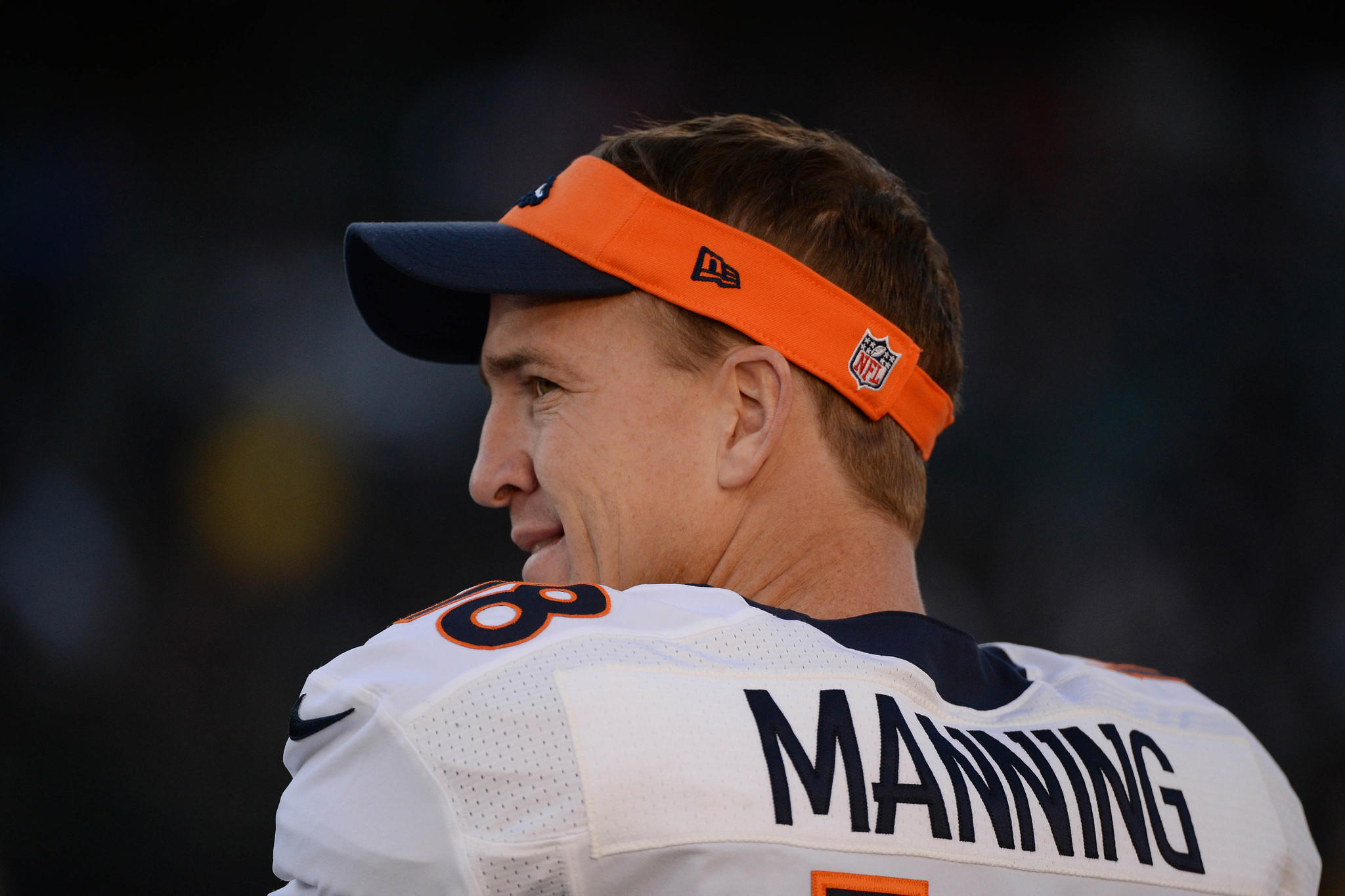 Denver Broncos quarterback Peyton Manning will lead his team against the San Diego Chargers on Sunday.