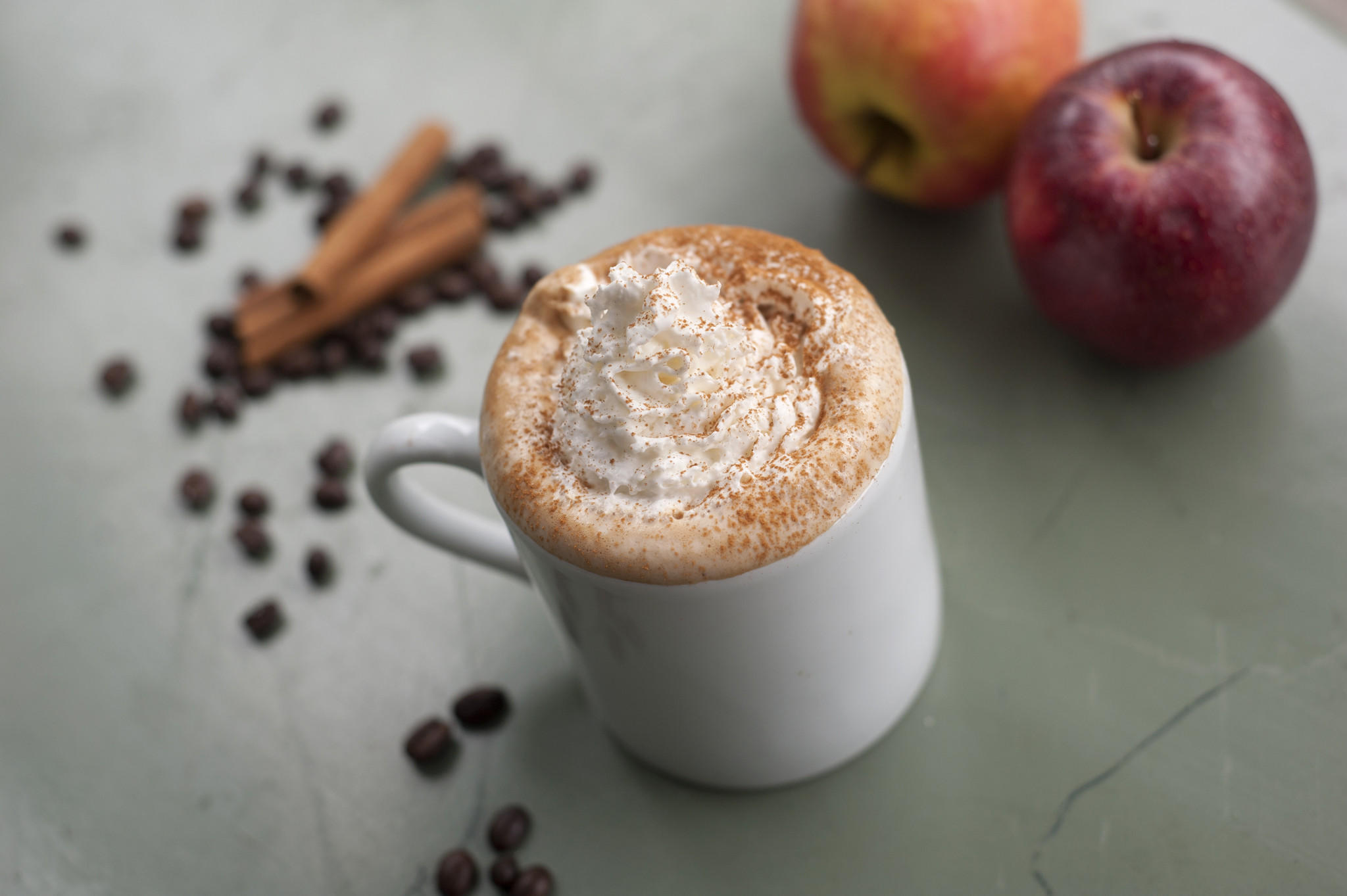 The seasonal Apple Pie Latte offered at Coffee & Tea Exchange (3311 N Boradway) in Chicago, IL on October 15, 2013. Kaitlyn McQuaid for RedEye