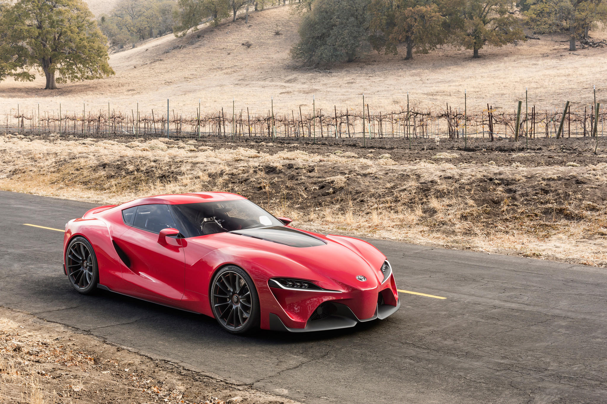 Detroit Auto Show Toyota debuts the FT 1 Concept the next Supra