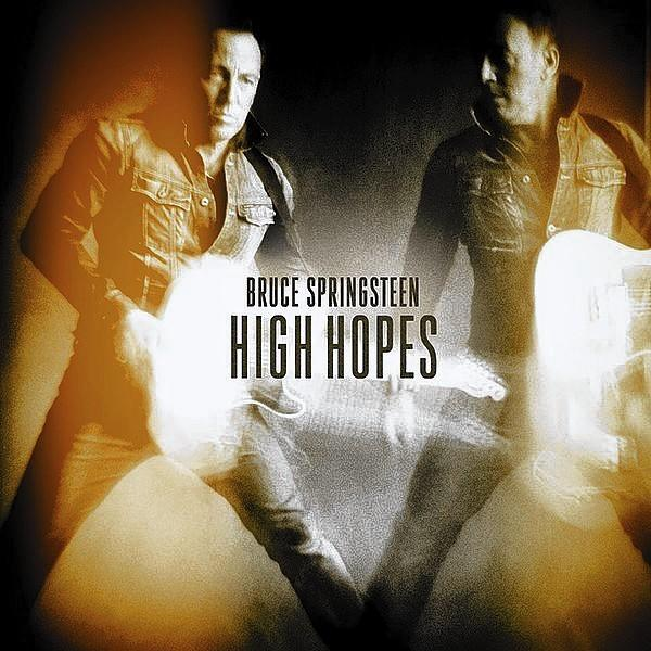 "Album artwork for Bruce Springsteen's album, ""High Hopes."""