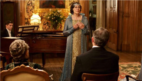 """Dame Kiri Te Kanawa performs during season four of """"Downton Abbey"""" on PBS."""