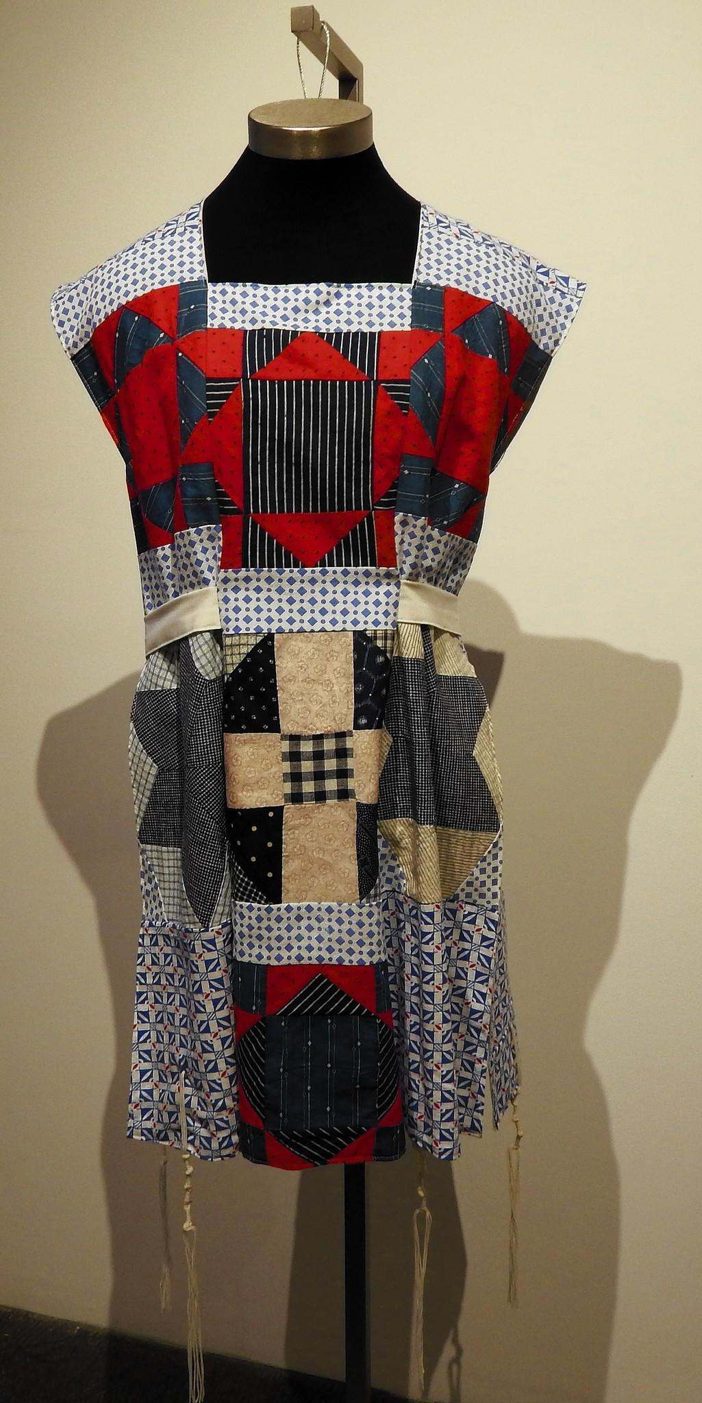 "From the exhibit ""Rachel Kanter: Ritual Cloth"" at Charter Oak Cultural Center in Hartford."