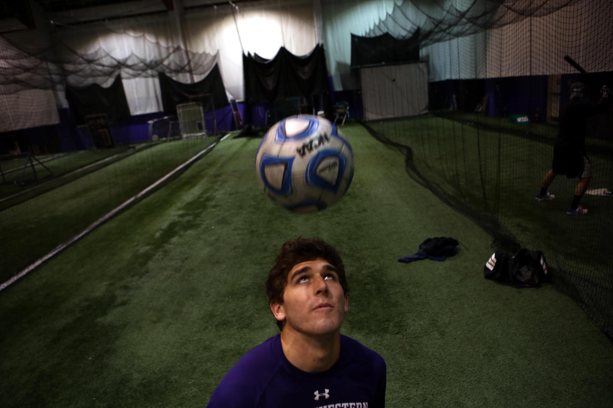 Former Northwestern University soccer player Chris Ritter.