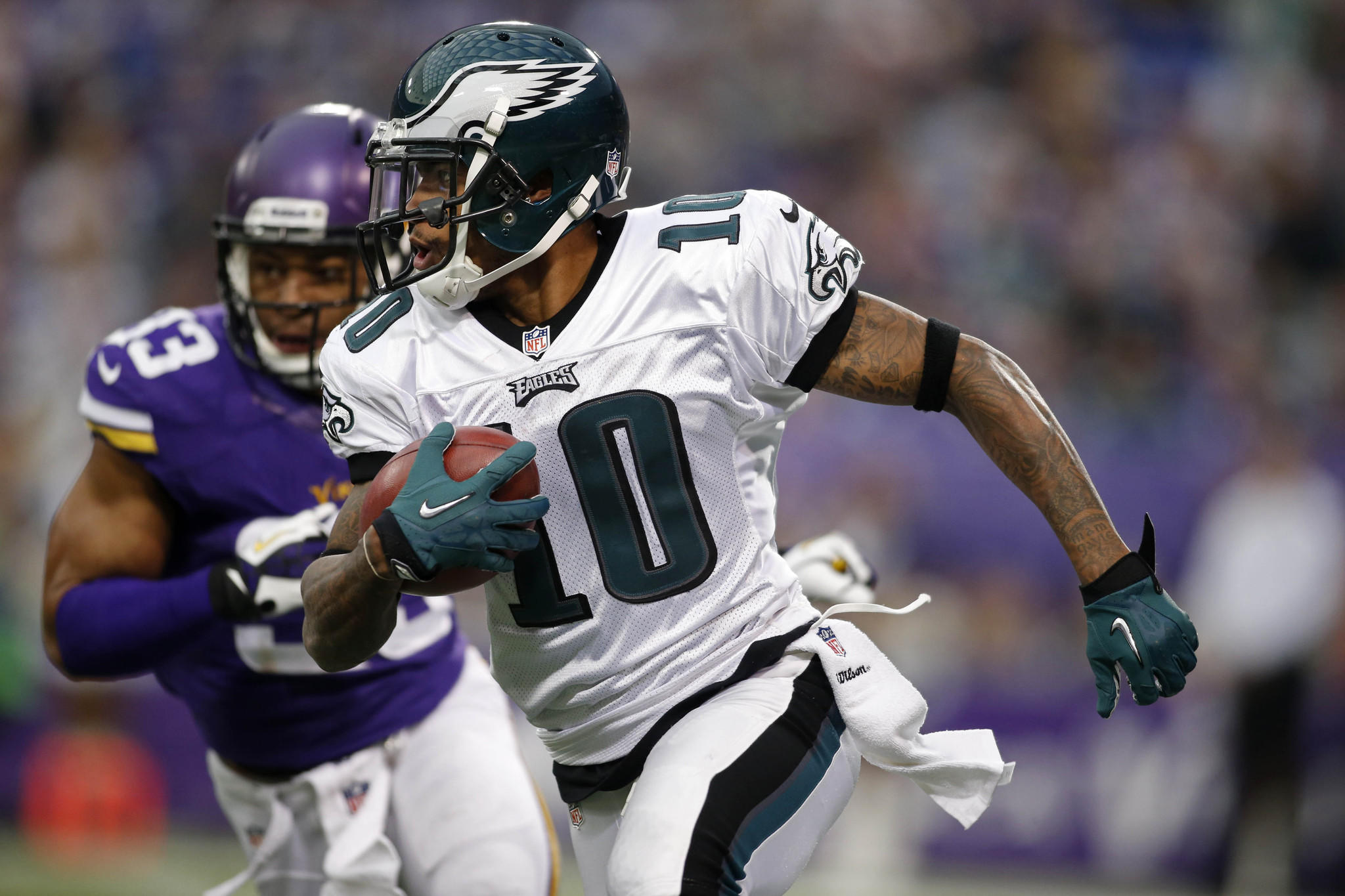 Philadelphia Eagles wide receiver DeSean Jackson.