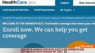 HHS Says 2.2M Chose Health Care Plans by Dec. 28