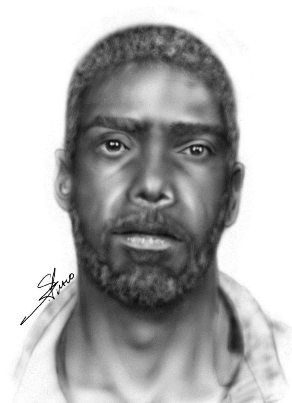 The Orange County Sheriff's Office released this sketch of the carjacking suspect.