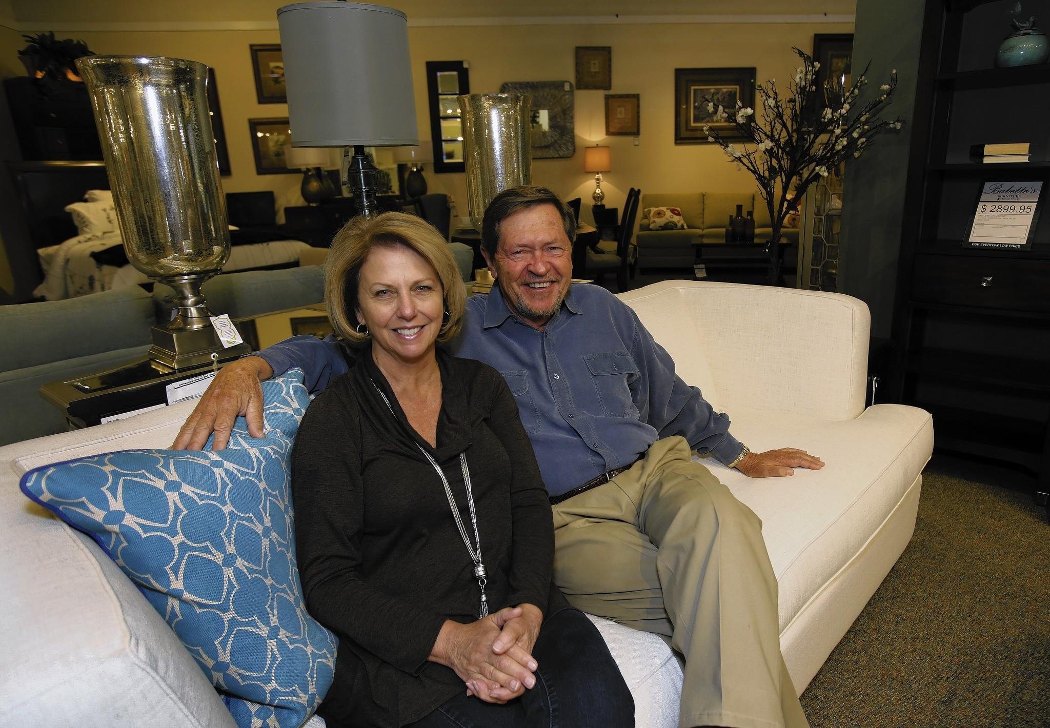 Gary and Babette Ward started their furniture business 25 years ago, back then, they delivered the goods themselves.