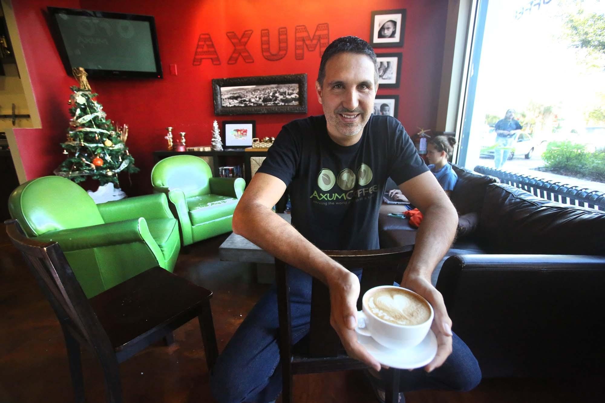 pastor hopes his coffee house can change the world