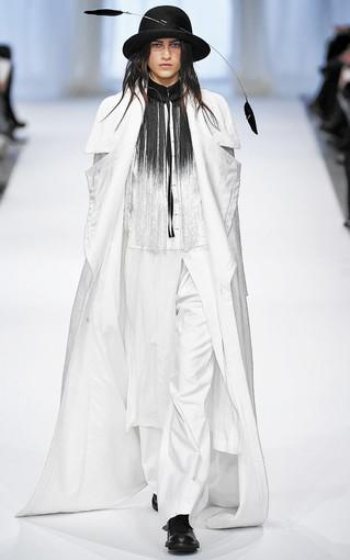 Farfetch.com has tagged trends that its staffers think will have longevity into spring, fall and beyond, including candy-colored coats, textured pencil skirts, and anything Ann Demeulemeester (runway look shown above).