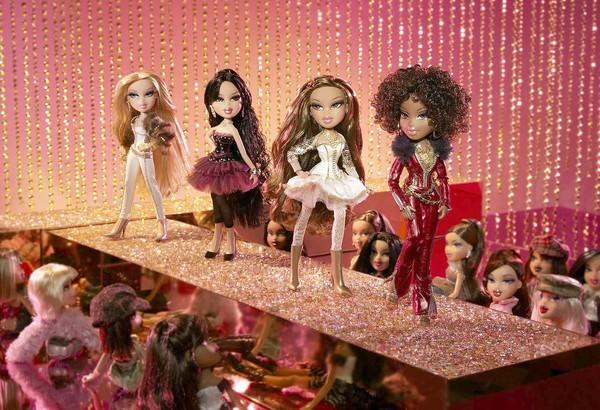 MGA, maker of Bratz dolls, above, is suing Mattel over allegations that the larger company stole trade secrets.