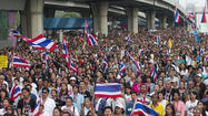 Thai protests forcing choice between coup d'etat and continued chaos