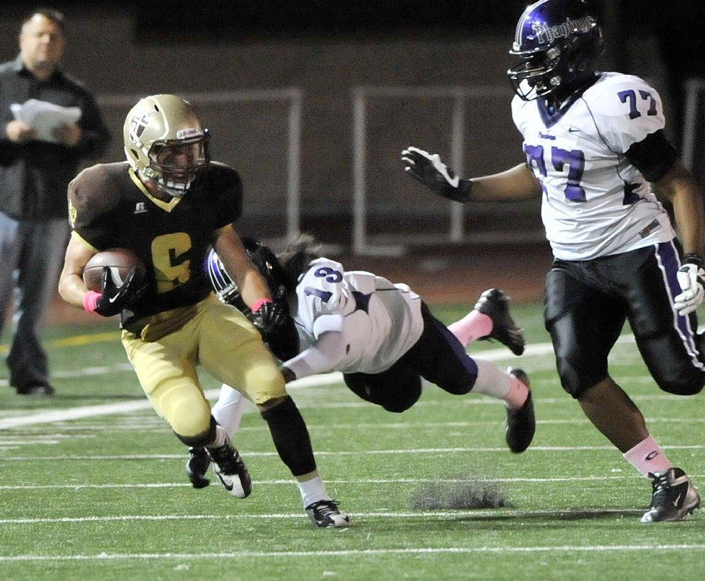 St. Francis High's Joe Mudie was one of six Golden Knights to notch All-CIF recognition.