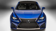 Detroit Auto Show: Lexus unleashes high-performance RC F Coupe