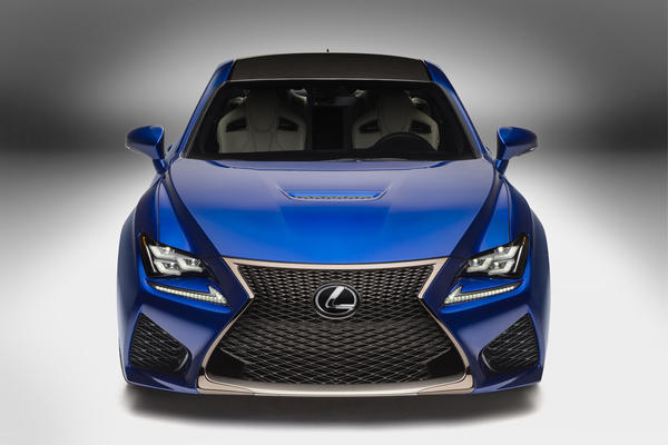 Lexus debuted the all-new RC F Coupe at the 2014 Detroit Auto Show. The rear-wheel-drive coupe has more than 450 horsepower and 383 pound-feet of torque.