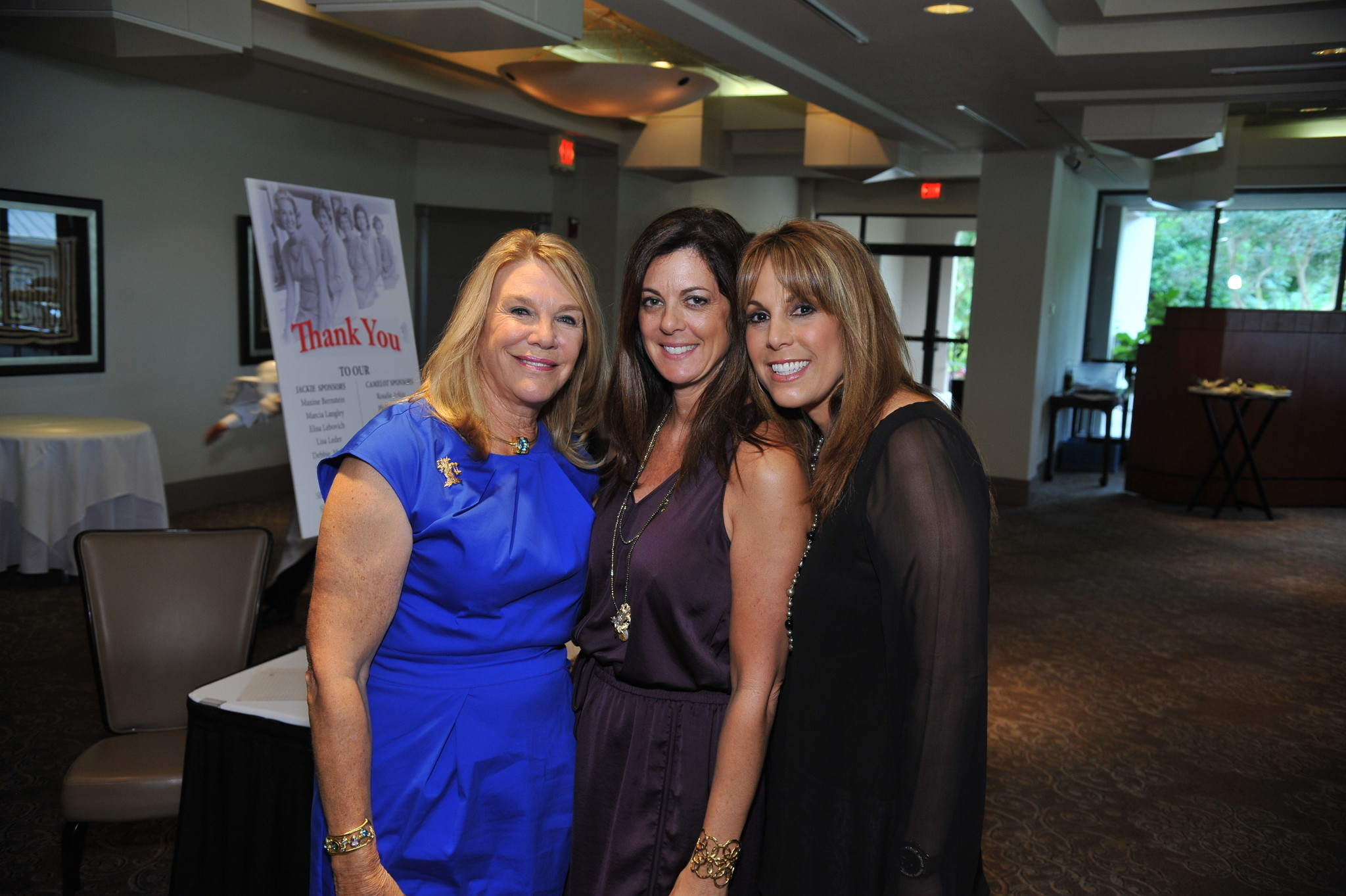 Society Scene photos - Helene Weicholz, left, Lisa Leder and Kim Fetterman support the Jewish Adoption & Foster Care Options (JAFCO) South Palm Beach/North Broward Chapter