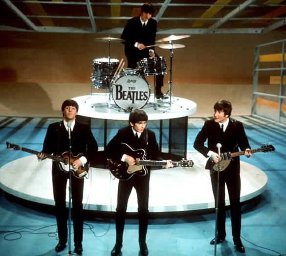 The Beatles on 'The Ed Sullivan Show'
