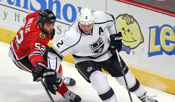 Defenseman Matt Greene will miss the team's upcoming four-game road trip because of an upper-body injury following the Kings' 1-0 win over Vancouver on Monday.