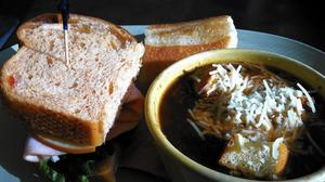 Soups and sandwiches fill the menu at Panera Bread