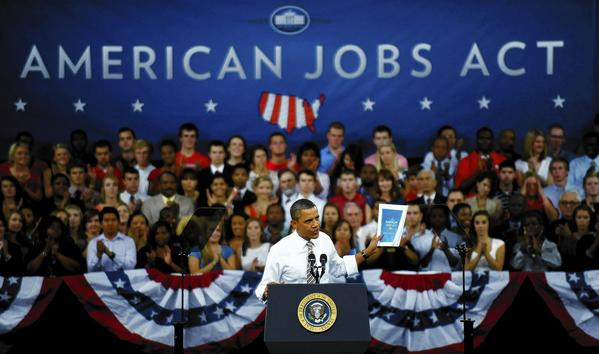 Obama chooses Manufacturing for the Jobs Market