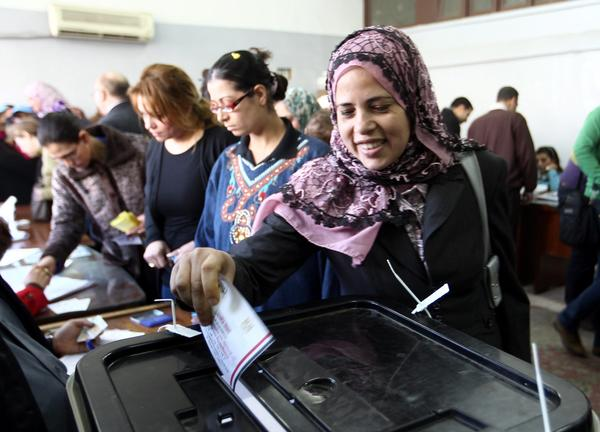Egyptians vote on second day of constitutional referendum