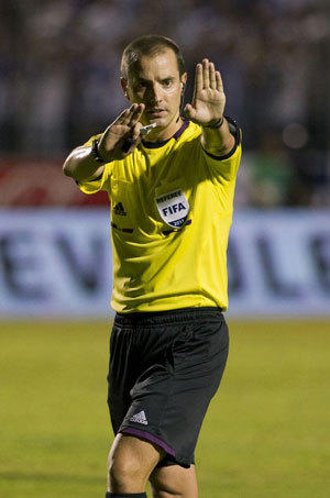 Mark Geiger, who has worked MLS games since 2004, will ref at the World Cup this year.