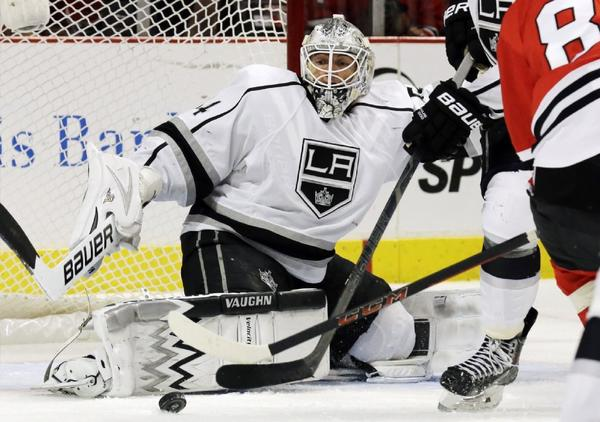 Kings Trade Ben Scrivens To Oilers For Third-round Pick, Recall Jones