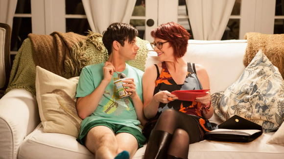 Paul Iacono and Megan Mullally in 'G.B.F.'