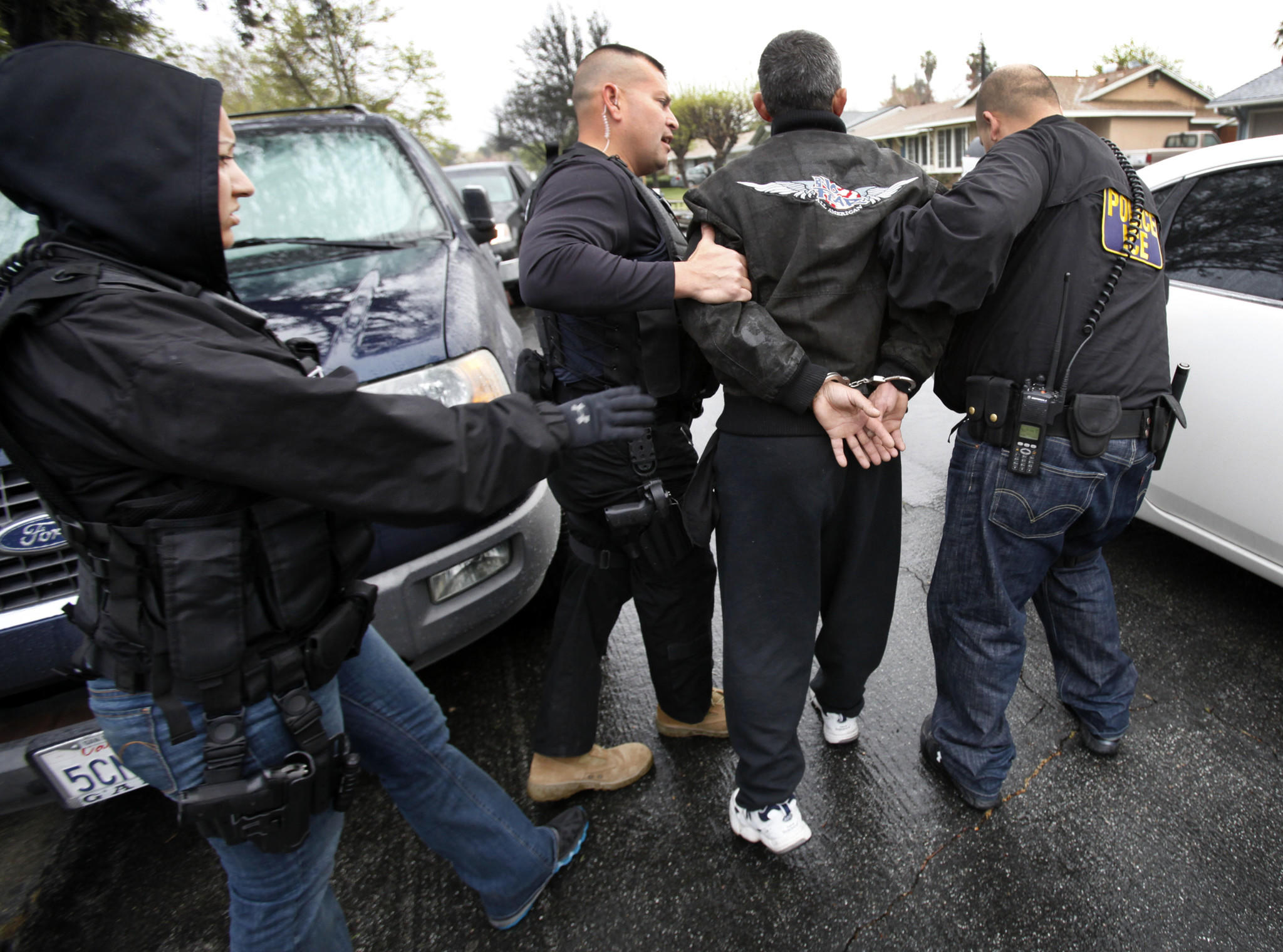 A man was arrested in 2012 by immigration agents in Chatsworth as part of a nationwide roundup of criminal immigrants.