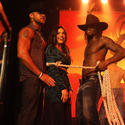 Adriana De Moura and Chippendales