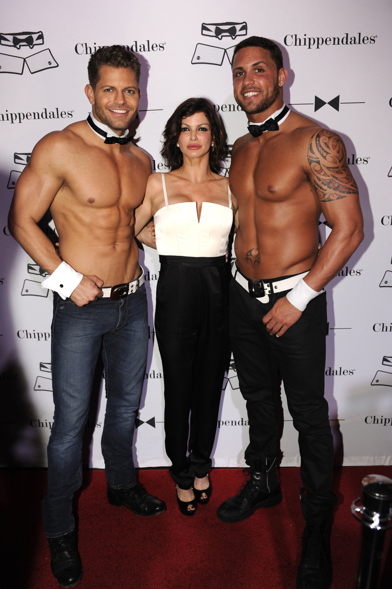 Chippendales open in Miami Beach - Jayme Vaughn, Carla Pellegrino and Matt Marshall1