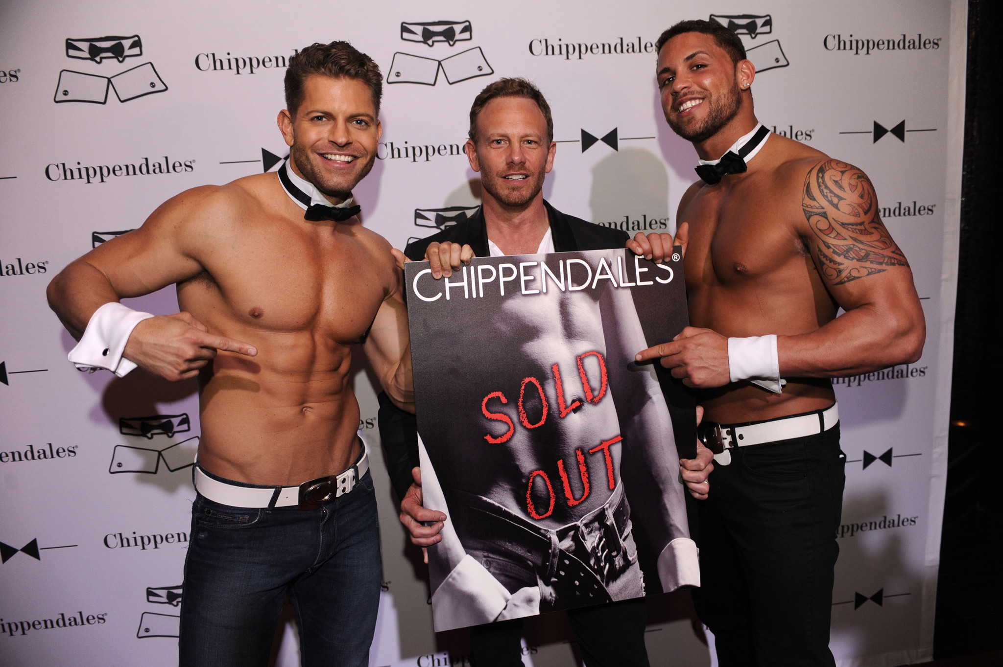Chippendales open in Miami Beach - Jayme Vaughn, Ian Ziering and Matt Marshall