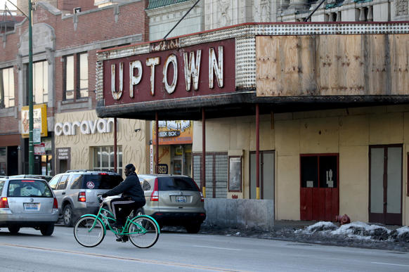 The would-be anchor to an Uptown entertainment district sits vacant.