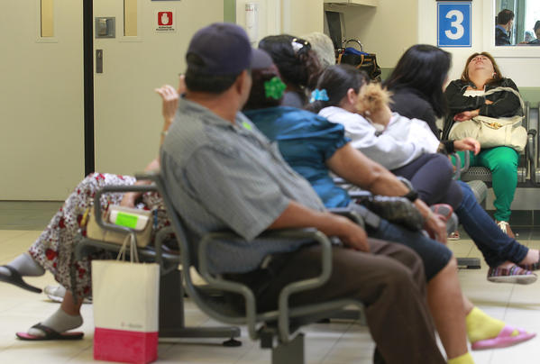Long waits at emergency rooms
