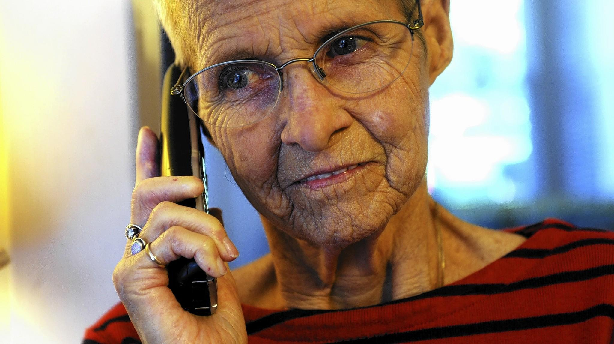 Judy Reynolds, of Bethlehem, saved a voicemail that promised her free groceries along with a medical-alert system.