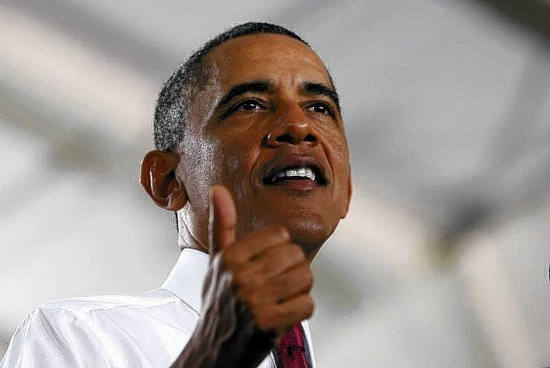 President Barack Obama speaks about jobs and the economy at North Carolina State University in Raleigh on Wednesday.