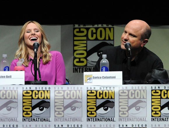"""Veronica Mars"" cast at 2013 Comic Con"