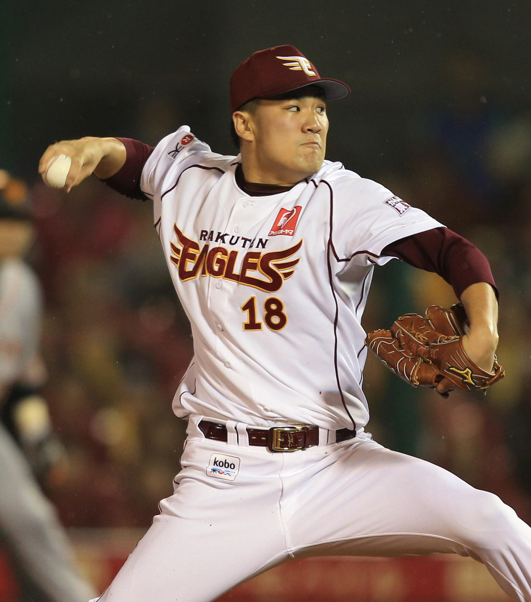 Rakuten Eagles pitcher Masahiro Tanaka is the object of an MLB bidding war.