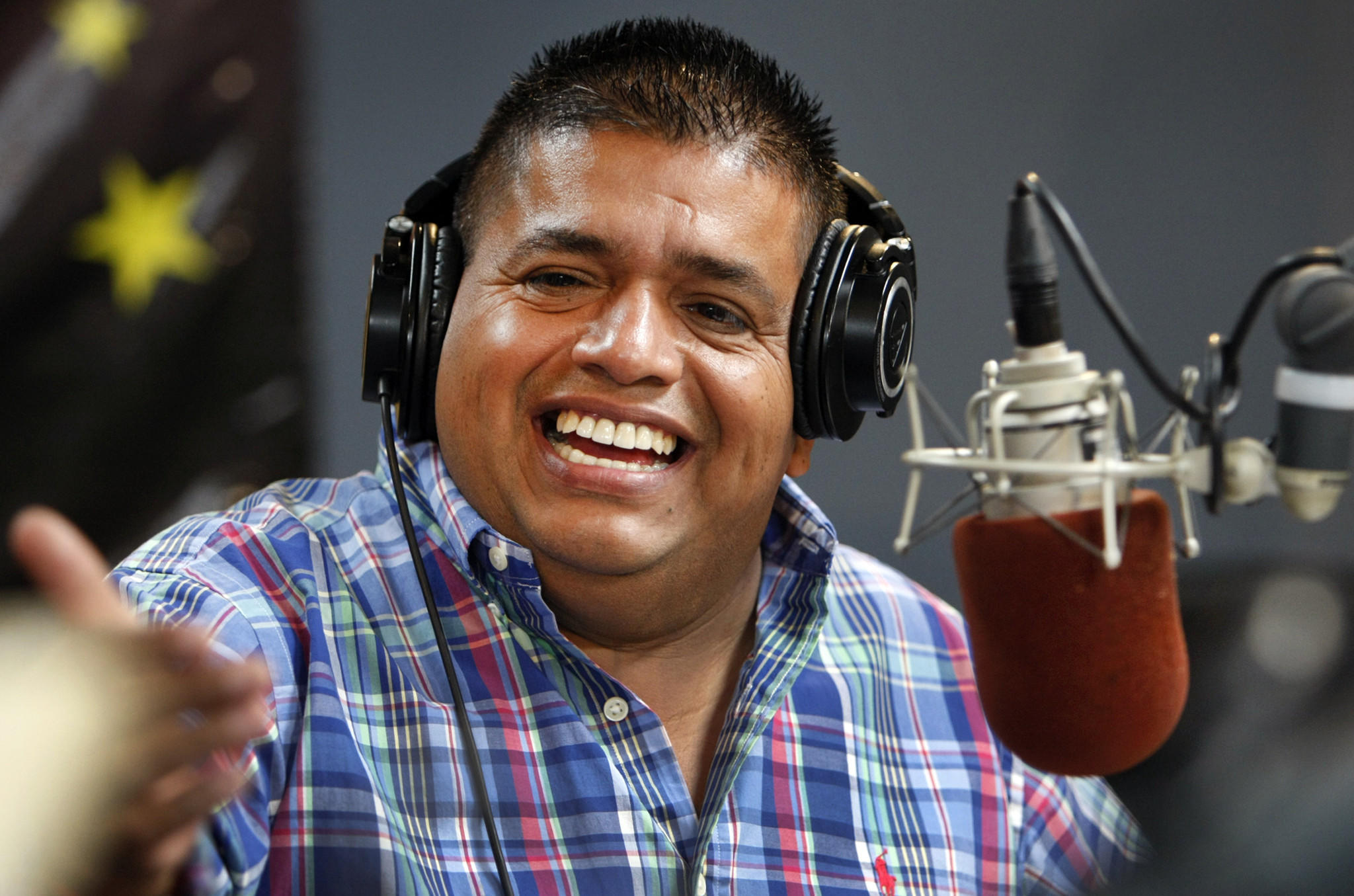 "Ricardo Sanchez, who goes by the nickname ""El Mandril,"" announced that he would move his show to KXOS 93.9 FM on Monday."