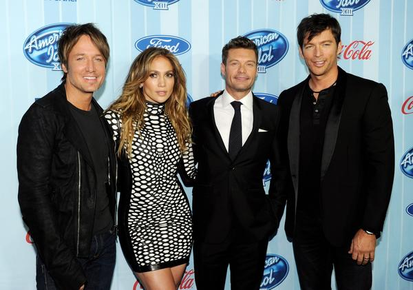 "Premiere Of Fox's ""American Idol Xlll"""